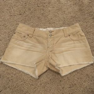 Abercrombie & Fitch corduroy shorts size 0